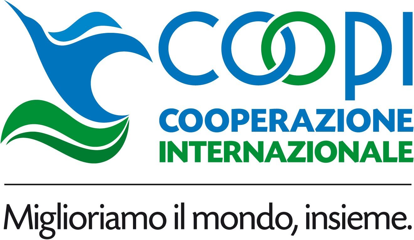 Logo a colori in orizzontale con pay off