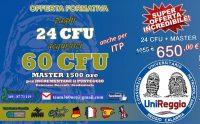 24 CFU + MASTER 1500 ORE