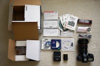 Canon EOS 6D Camera 20.2 MP CMOS Digital SLR con EF 24-105mm f / 4L IS USM