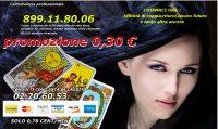 Cartomanzia 899118006 a soli 0,30 cent/min
